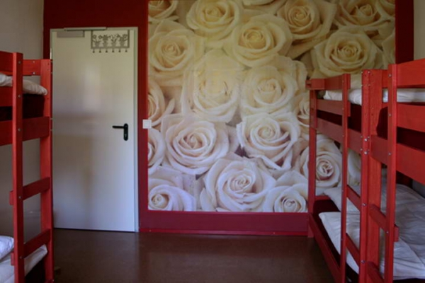 6 bed female dorm - Rosy time